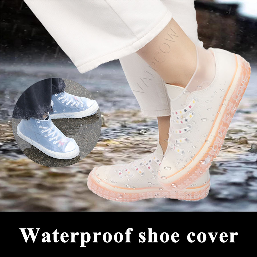 Recyclable Silicone Reusable Waterproof Shoe Covers