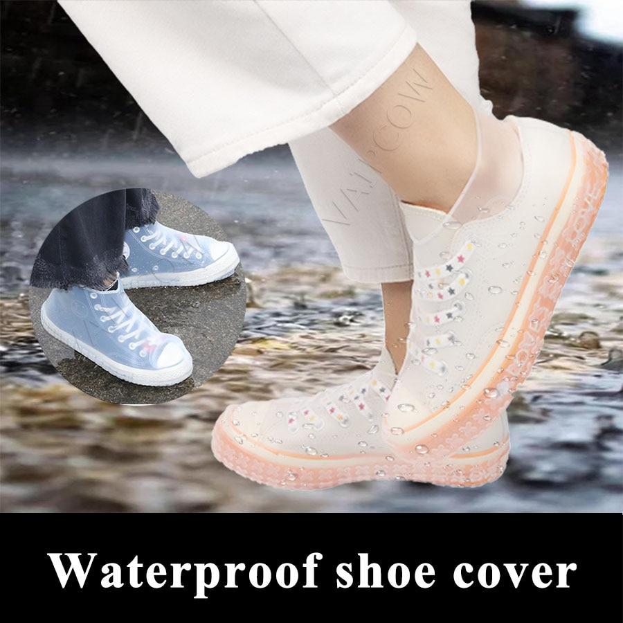 Cubrezapatos de silicona reciclable reutilizables impermeables a prueba de lluvia zapatos de hombre cubre Botas de lluvia antideslizantes lavables ropa unisex resistente Funda transparente con etiqueta de código de barras para iphone 11 11pro max 7 8 Plus XS MAX X XR para DHL