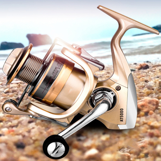 Aluminum Fishing Reel Spinning Wheel Metal Fishing Reel Fishing Reel Fishing Reel Sea Rod Wheel