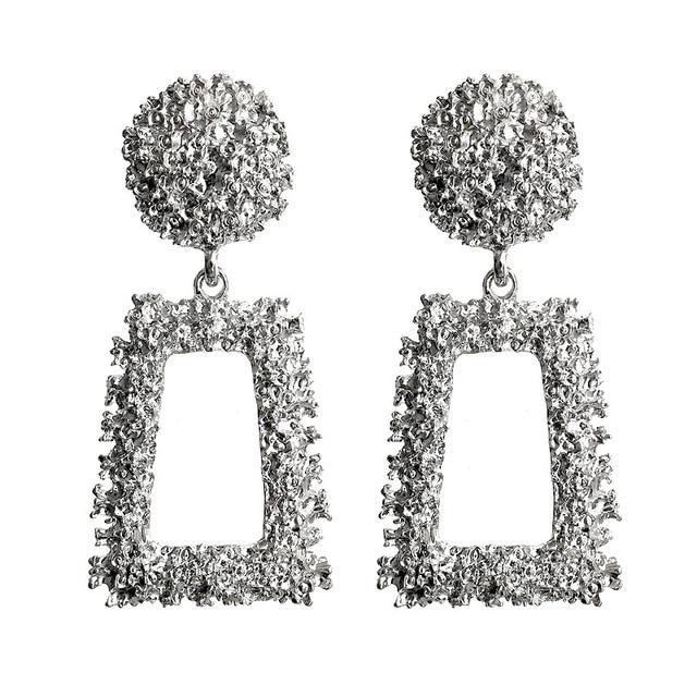 Women Earrings Girls Exaggerated Modern Fashion Drop Hanging Dangle Earring Jewelry Vintage Trend Pendant Geometric Fashion & Designs Fine Jewellery Jewellery & Watches Women's Fashion