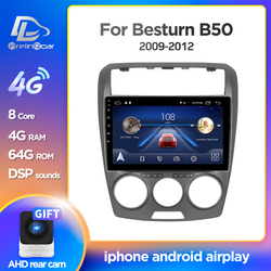 Prelingcar Android 9.0 For FAW Besturn B50 2009 - 2012 Car Radio Multimedia Video Player GPS Navigation NO DVD 2 Din Octa-Core