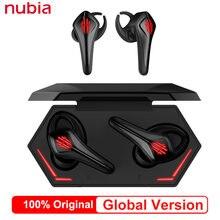 Globalna wersja nubia Red Magic słuchawki Bluetooth 5.0 TWS słuchawki Bluetooth słuchawki douszne do iPhone Xiaomi Samsung