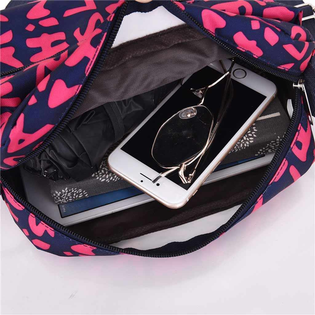 女性のためのクロスボディバッグメッセンジャーバッグナイロンバッグ女性のカジュアルなショッピングショルダーバッグメッセンジャーバッグのファッション携帯電話バッグ
