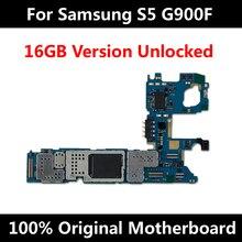 工場ロック解除オリジナル電話のマザーサムスンギャラクシーS5ロジックボードG900M G903F G901F G900I G900F G900H withfullチップ