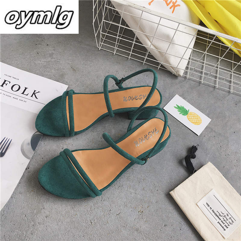 New Flat Outdoor Slippers Sandals Foot Ring Straps Beaded Roman Sandals Fashion Low Slope With Women's Shoes Low Heel Shoes