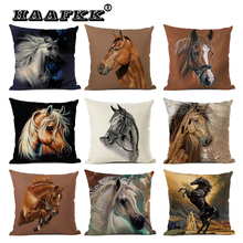 Cartoon animal print pillow cover adorable cushion accessories Automobile home decoration duplex