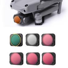 Drone Filter For DJI Mavic Air 2S Set UV/CPL/ND/PL/8/15/32/64/1000 Neutral Density Polar Adjustable 2 5/6 9 6pcs Kit Accessories