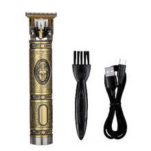 Hair Cutter Professional Hair Trimmer Men Rechargeable Electric Powerful Haircut Machine Carving Hair Tool