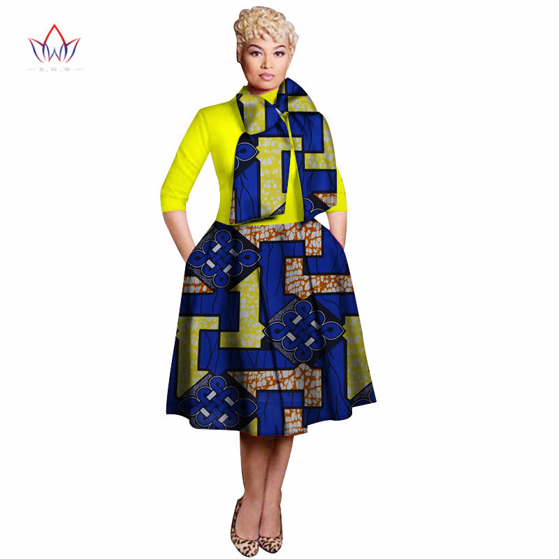 New Vintage African Women Patchwork Bow knot A line Dresses Ankara Clothes Bazin Rihce African Print Dresses for Women WY3135 2 in Africa Clothing from Novelty Special Use