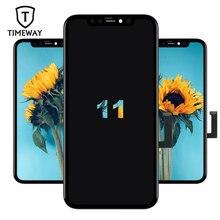 100% LCD OEM Per il iPhone 11/Pro/ Pro Max Display Con Truetone Digitizer 3D Touch Screen di Ricambio Per iPhone 11 iPhone X LCD
