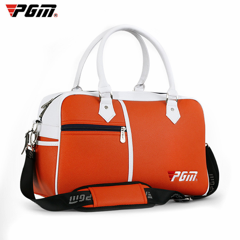 PGM Brand Golf Bag Golf Clothes Bag Men & Women Shoes Package Box-shaped  Large Capacity Double-deck Clothes Bag 3 Colors