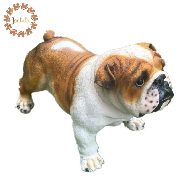 New Resin Dog European Pop Art Resin Craft Dog Figurine Statue Husky / Bulldog Artificial Dog Best Gift, Free Shipping