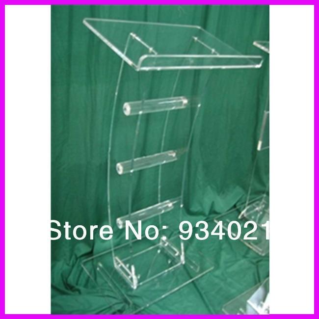 Acrylic Tabletop Lectern/Plexiglass Podiums Plexiglass