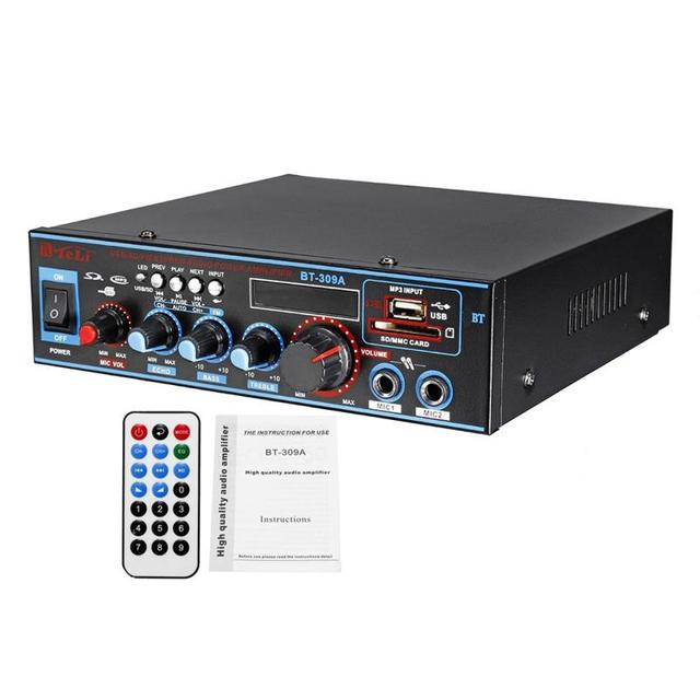 Digital Power Audio  Home Car Audio Amp  5