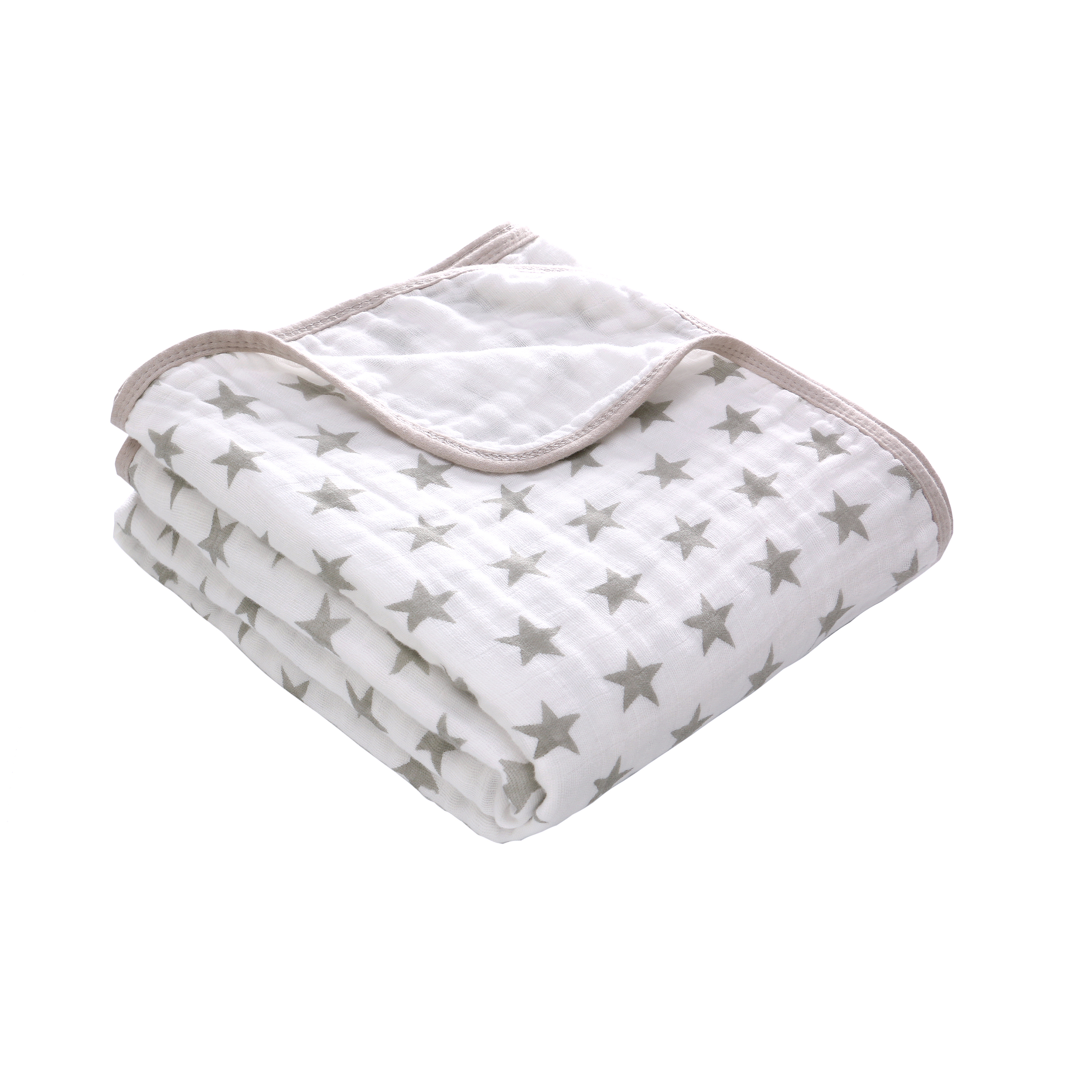 2 Layers Blanket Swaddleing Infant Cotton Bedding Sheet Muslin Travel Blanket For Babies For Newborn Double Layer Blanket