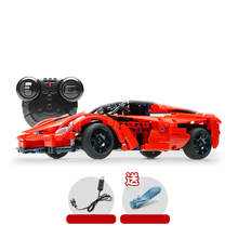 City Racing RC Car Series Building Blocks Bricks Toy Remote Control Red Sports Cars Compatible Legoed Technic Toys For Children цена