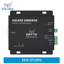 RS232 TO RS485/RS422 양방향 투명 전송 E810 DTU(RS) 장거리 서버 포트 변환기 전압 보호