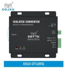 RS232 TO RS485/RS422 iki yönlü şeffaf iletim E810 DTU(RS) uzun mesafe sunucu bağlantı noktası dönüştürücü gerilim koruma