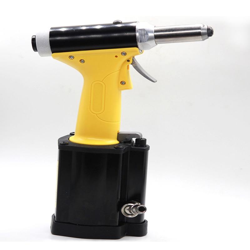 Automatic Pneumatic Rivet Gun Self-priming Industrial Grade Rivet Gun Tool Convenient Stainless Steel Blind Rivet Gun