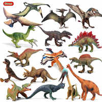 Oenux salvaje Jurásico T-Rex Pteranodon Archaeopteryx dinosaurio Spinosaurus mundo PVC modelo de figuras de acción de juguete