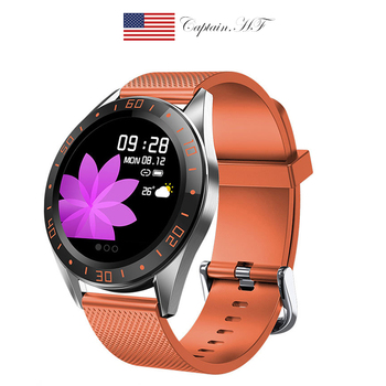Smart Watch Men Intelligent Bracelet Sports Watch Male Round Screen Heart Rate Blood Pressure Sleep Monitoring Wristwatch