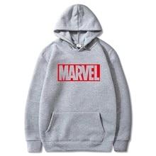 Marvell Sweatshirt men's Long Sleeve Black Long Sleeve Sweatshirt men's Sweatshirt men's Sweatshirt men's sportswear