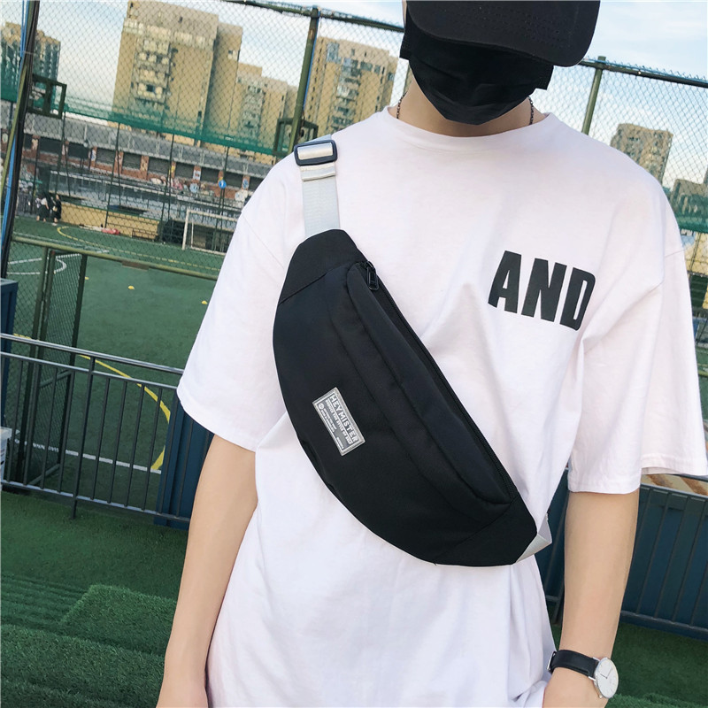 Popular Brand New Style Chest Pack Korean-style Trend Casual Workwear Men's Wallet Sports Canvas Haversack Messenger Bag Women's