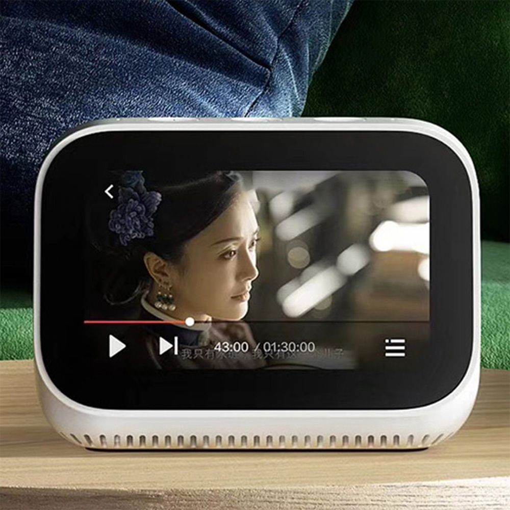 Xiaomi Alarm-Clock Speaker Doorbell Touch-Screen Bluetooth With Vedio Display Smart-Connection