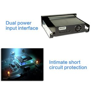 """Image 5 - SATA Internal Tray less Mobile Rack for 2.5"""" or 3.5"""" SSD HDD Hard Drive Backplane Enclosure"""