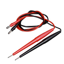 Digital Multimeter Probe Cable Test-Leads-Kits Led-Tester Soft-Silicone Wire Feeler Needle-Tip