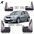 Передние и задние брызговики подходят для 2004-2011 BMW 1 серии E81 E87 Брызговики 2007-2010 крыло аксессуары 2006