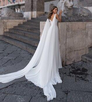 Robe de Mariage Bohème Romantique Ambre
