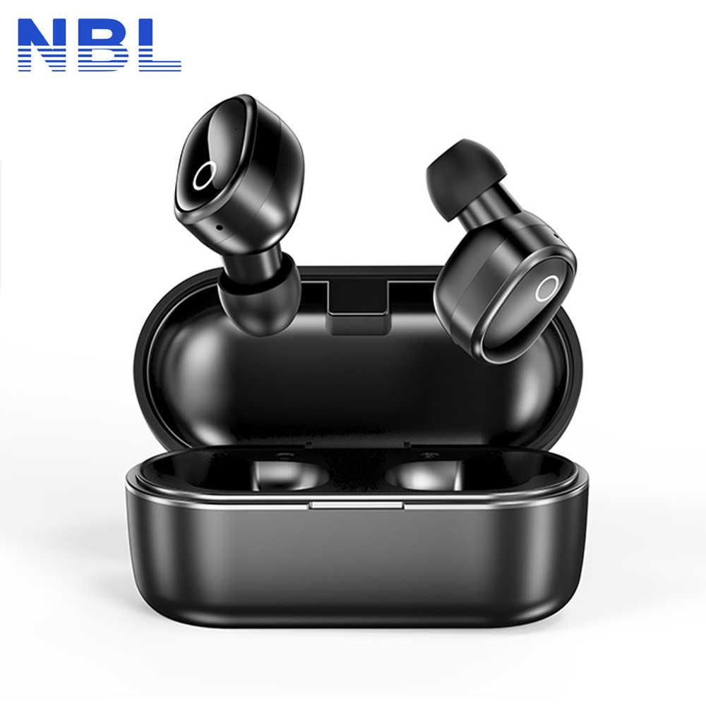 Wyniki NBL Q7 TWS Bluetooth 5.0 słuchawki Stereo bezprzewodowe Earbus dźwięku HIFI słuchawki sportowe zestaw głośnomówiący do gier zestaw słuchawkowy z mikrofonem do telefonu