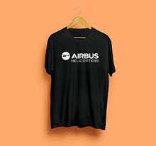 Airbus hélicoptère Logo Eurocopter groupe équipage T-Shirt unisexe taille S M L XL 2XL(China)