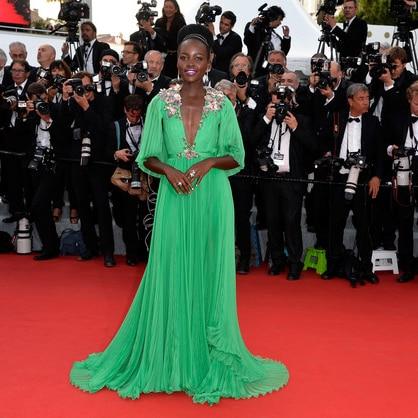 Sequin Long Chiffon  Casaco De La Plus Size Formal Party Elegant Cannes Celebrity Red Carpet Gowns Mother Of The Bride Dress