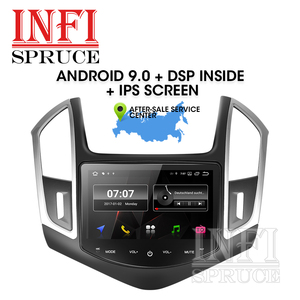 android 9.0 car dvd gps for Chevrolet Cruze 2013 2014 2015 with radio gps navigation support mirror link steering wheel(China)