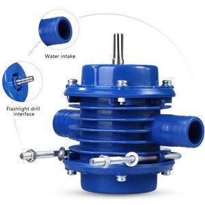 Image 4 - 핸드 전기 드릴 자체 프라이밍 워터 펌프 DC 원심 펌프 가정용 소형 잠수정 모터 홈 가든 배수 장치