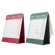 2Pcs Creative Desktop 2022 Calendar Table Calendar Yearly Agenda Planner