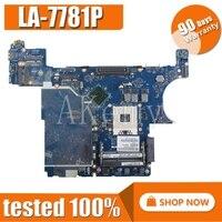 For DELL Latitude E6430 노트북 마더 보드 QAL80 LA-7781P CN-0F761C CN-08R94K CN-0XP7NX 마더 보드 테스트 100% 작업