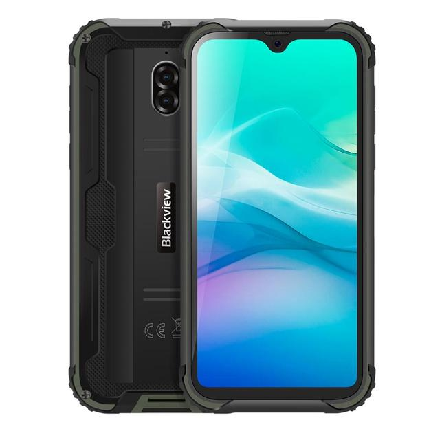 Blackview BV5900 IP68 Waterproof Rugged Smartphone 5.7'' Screen Android 9.0 Pie 3GB RAM 32GB ROM Mobile NFC 5580mAh 4G Cellphone 3