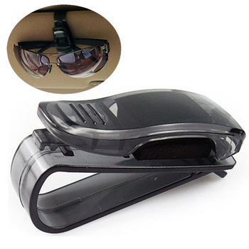 Auto Fastener Clip ABS Car Vehicle Sun Visor Sunglasses Eyeglasses Glasses Ticket Holder Clip image