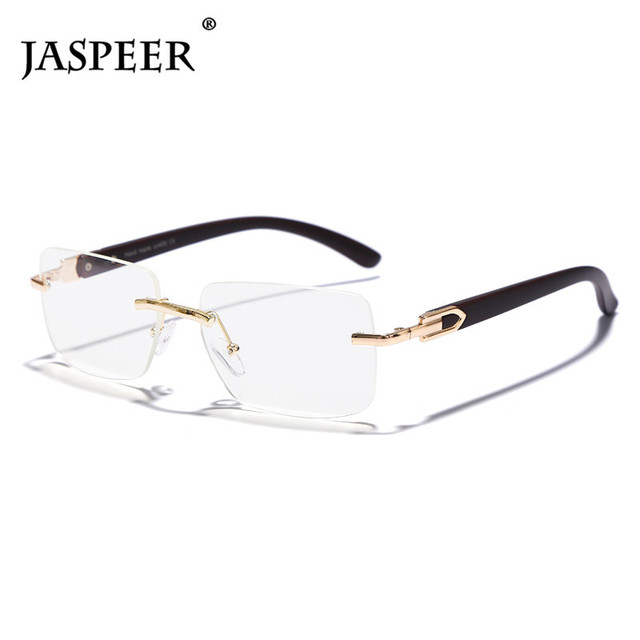 Punk Rimless Rectangle Sunglasses Men Women Vintage Shades UV400 Driving Sun Glass Frameless Gradient Fashion Eyewear 5