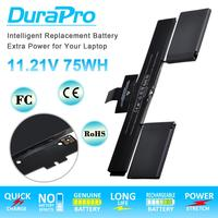 11.21V A1437 Laptop Battery 6600mAH Replacement Polymer for Apple MacBook Retina 13 A1425 End 2012–Early 2013 Version + tools