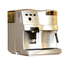 Automatic Household Coffee Machine with Grinder Commercial Pump Pressure Multi-function Coffee Machine ABS Plastic 220V