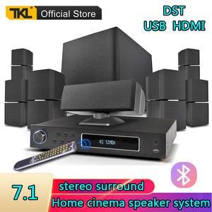 TKL Speaker-System Subwoofer Surround-Sound Bluetooth USB 3D