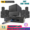 TKL 7.1 Channels Home Theater System USB Bluetooth 3D surround sound Subwoofer Speaker System