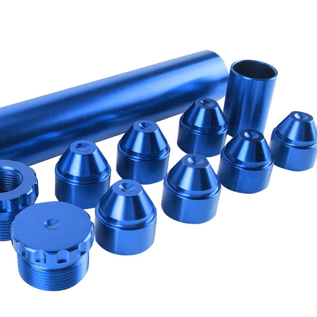 11 шт набор 6in алюминиевый 5/8 ''-24 топливный Масляный фильтр для NAPA 4003 WIX 24003 синий