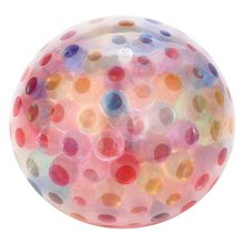 Spongy Rainbow Ball Toy Squeezable Stress Toy Stress Relief Ball For Fun Release Pressure Pinball Grape Ball