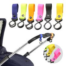 Akcesoria dla dzieci wózek spacerowy wózek spacerowy wózek boczny wózek dziecięcy uchwyt na zakupy torba z tworzywa sztucznego kolorowy wózek Hook Up tanie tanio CN (pochodzenie) NYLON A1000851 13-18 M 19-24 M 2-3Y