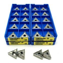 TNMG160404 HA H01 Aluminum Insert CNC Lathe Tools Aluminum Copper Tool turning insert TNMG 160404 wood turning tool Cutting tool